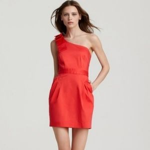 French Connection One Shoulder Dress b0544